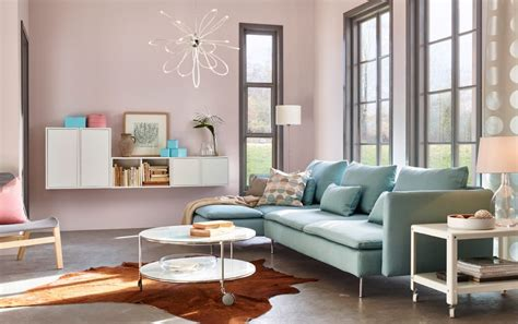 ikea muebles salon salón moderno ikea con muebles modulares imágenes y fotos