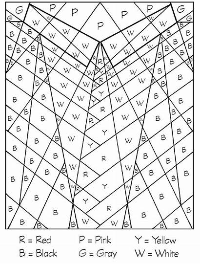 Coloring Pages Letters Letter Numbers Number Colouring