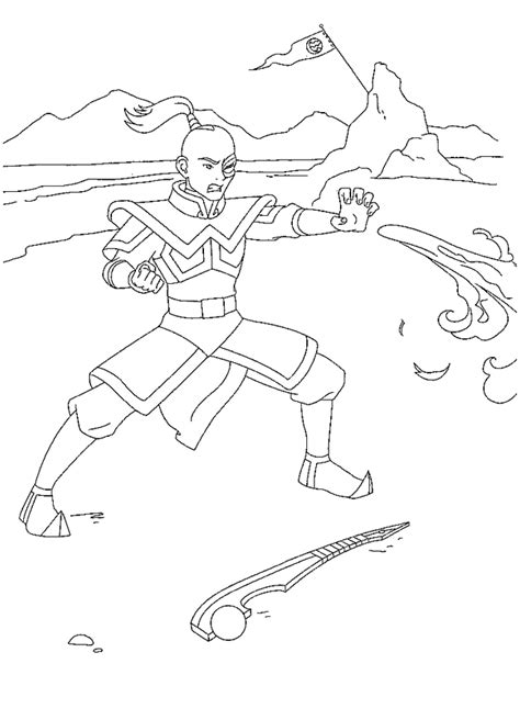 Avatar Kleurplaat by Coloring Page Avatar Coloring Pages 28