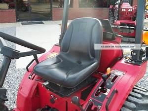 2004 Mahindra 2015 4wd Tractor
