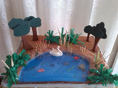 pin de anyesca serj en maqueta ecosistema lagos