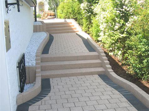 Hauseingang Pflastern Ideen by Hauseingang Gestalten Treppe Mit Luxus Haus Design Ideen 7