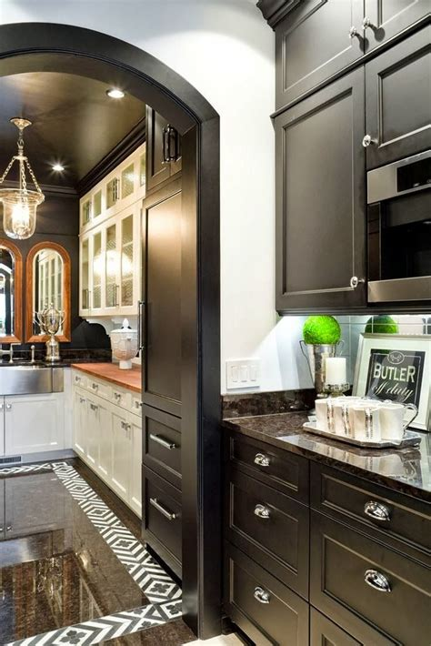 black cabs butlers pantry kitchen trends design