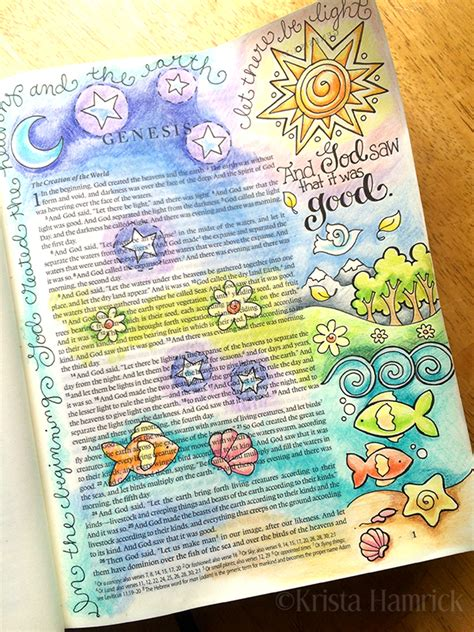 is journaling a word bible journaling krista hamrick illustration