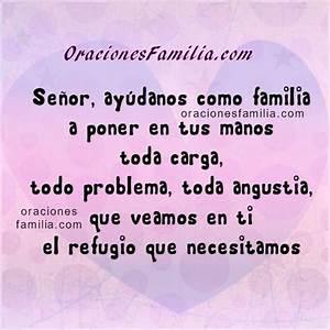 Oración por la familia Oraciones de Familia