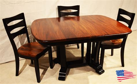 amish elm dining table jasen s furniture since 1951