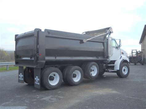 dump truck tri axle steel dump trucks for sale