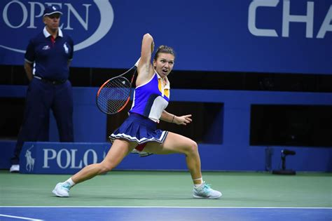 Maria Sharapova beats Simona Halep in US Open first round – as it happened   Sport   The Guardian