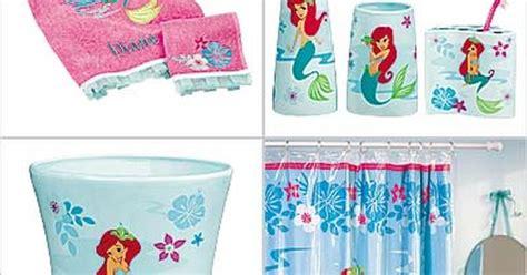 Disney Mermaid Bathroom Decor by Disney Ariel Bathroom Set Then There S An Ariel Bath