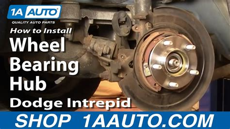 replace rear wheel bearing hub   dodge