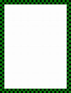 Free Checkered Borders: Clip Art, Page Borders, and Vector ...