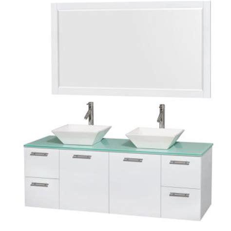 glacier bay wall mount sink glacier bay valencia 25 in vanity in glazed hazelnut with
