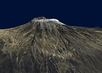 Highest Summit Kilimanjaro Mount Spreading Once
