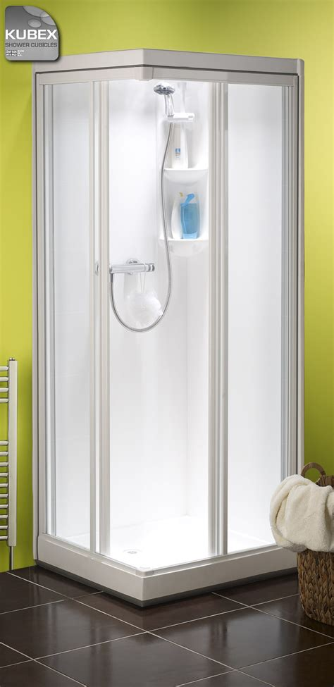 fully enclosed shower units kubex kingston corner entry shower cubicle leak free