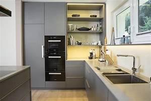 Arbeitsplatte Beschichtung Ausbessern : mtb k che in beschichtung grau kitchen pinterest ~ Lizthompson.info Haus und Dekorationen