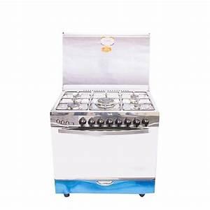 Cuisiniere Gaz 5 Feux : universal cuisini re gaz 5 feux argent acheter en ~ Edinachiropracticcenter.com Idées de Décoration