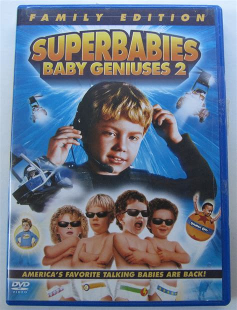 Superbabies Baby Geniuses 2 Family Edition Dvd In Case