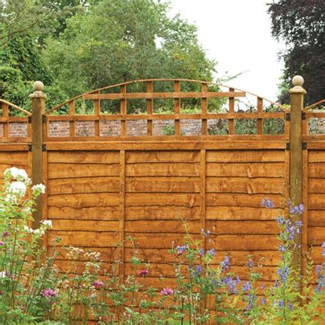 6ft Fence Panels With Trellis by Forest Convex Trellis Fence Topper 6ft Buy Fencing