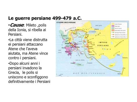 Cause Guerre Persiane Le Guerre Persiane Atene L Et 224 Di Pericle Ppt