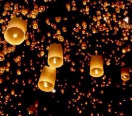 flying candles sky lanterns flying sky floating lanterns boda
