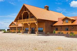 Large Horse Barn - Traditional - Exterior - other metro