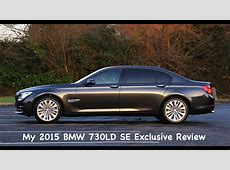 2015 BMW 730LD SE Exclusive Review N57 F02 YouTube