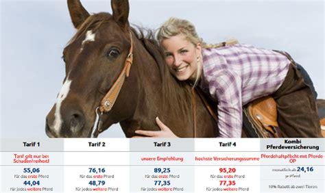 pferdeversicherung im vergleich