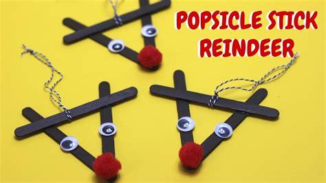 Popsicle Stick Reindeer