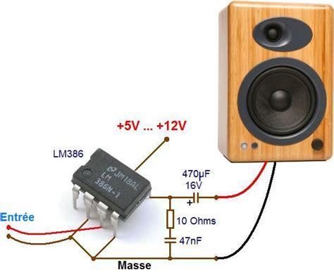 puissance nominale d une le li 224 lm386 sch 233 ma