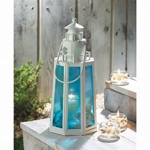 Lookout Lighthouse Candle Lantern Wedding Centerpiece