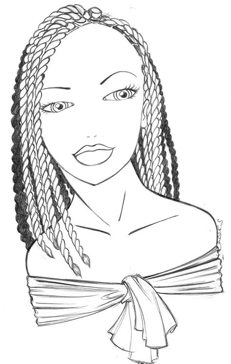 kryss   classic braids coloring books skull coloring pages people coloring pages