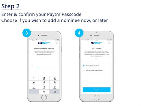 open account paytm saving accountinterest rate