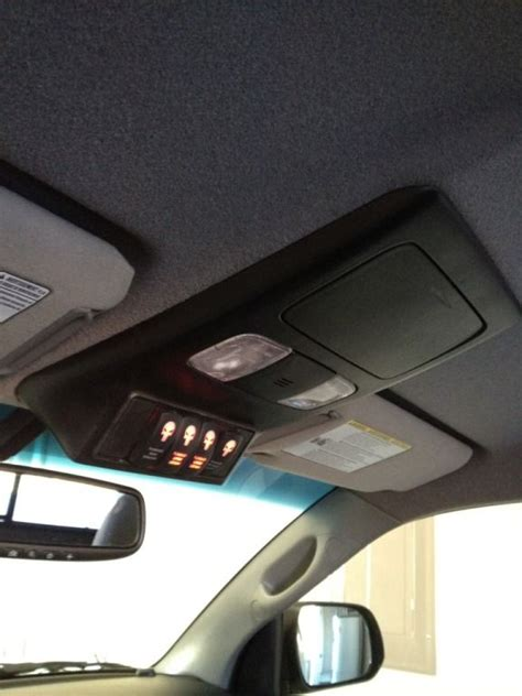 overhead console custom switch panel page  tacoma