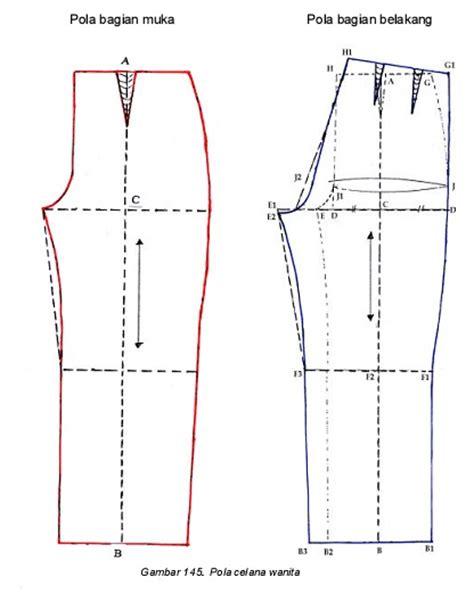 Kaos Wanita Dewasa Lengan Panjang Cara Membuat Pola Celana Panjang Danitailor