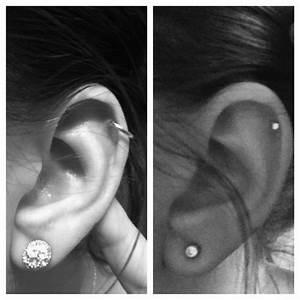 The 25+ best Upper ear piercing ideas on Pinterest | Ear ...