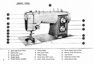 Kenmore 158 540 158 541 158 542 Sewing Machine Instruction