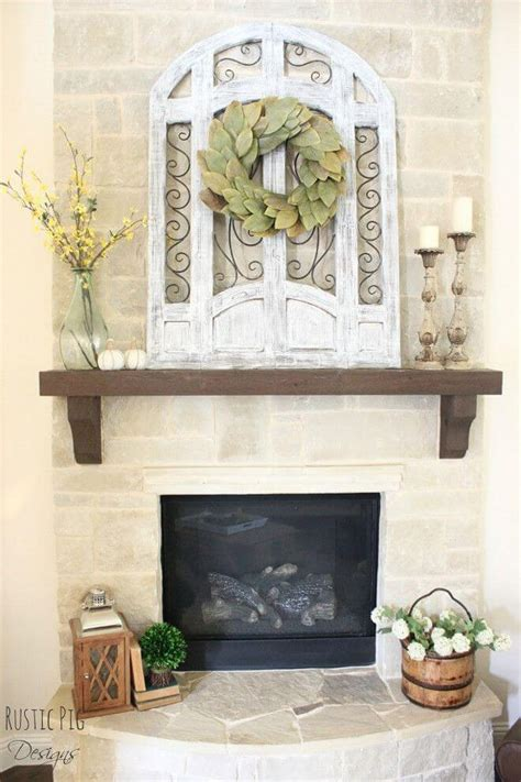 christmas mantle garland 28 best farmhouse mantel decor ideas and designs for 2018