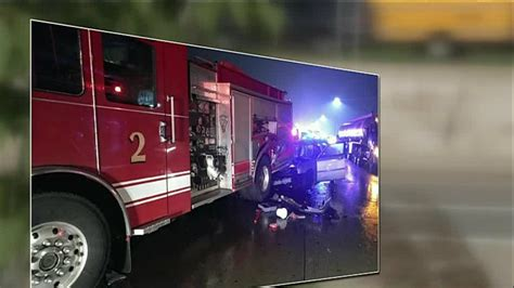 Taylor Firetruck Hit Suspected Drunken Driver