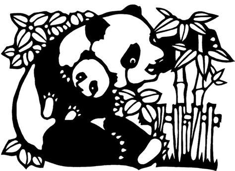 Kleurplaat Pandabeer by Kinderpleinen Panda Beren Kleurplaten