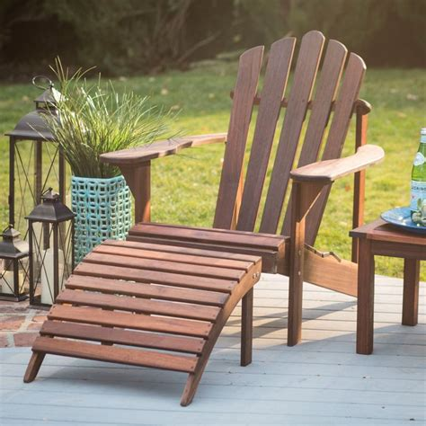 adirondack chair and ottoman have to have it belham living richmond deluxe adirondack