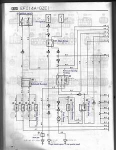 4a-gze  Japan  Ae92  101 Ecu Pin Identification  Now Including Wire Diagrams