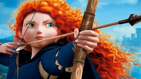 Disney Animation Wallpaper - wallpaper princess merida brave animation disney