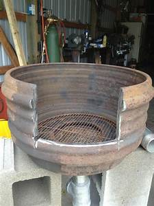 Brake drum forge - Solid Fuel Forges - I Forge Iron