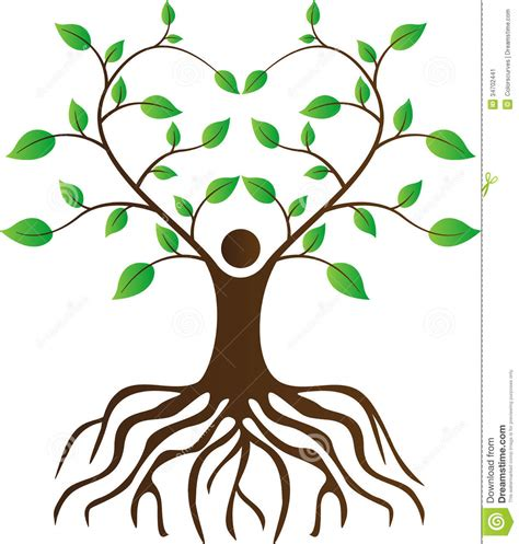 family tree with roots clipart tree with roots and branches clipart 41