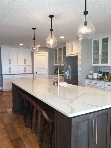granite kitchen islands calacatta laza msi quartz denver shower doors denver
