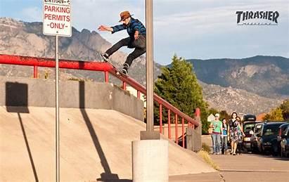 Thrasher Magazine Wallpapers Skateboard April Leo Backgrounds