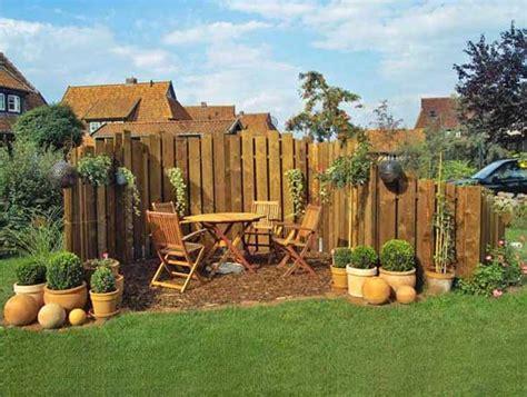 Gartengestaltung Kleiner Garten Sichtschutz Für Ideen