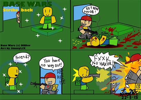 anime fight roblox roblox base wars tl comic 01 by jimmyljx on deviantart