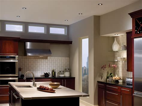 Best Recessed Lighting For Kitchen With Decorative Wall