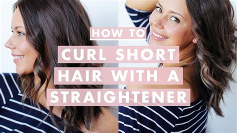 Curling Hairstyles For Medium Hair by How To Curl Medium Hair With A Straightener